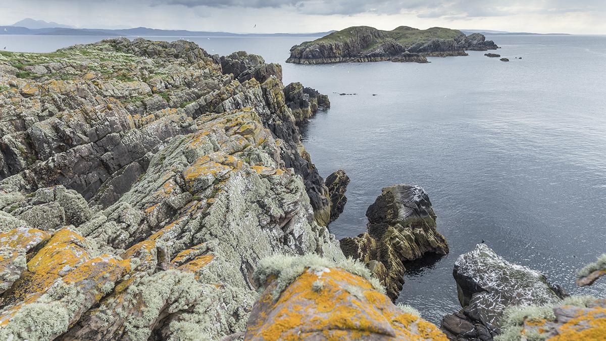 Bottle Island from Carn Iar